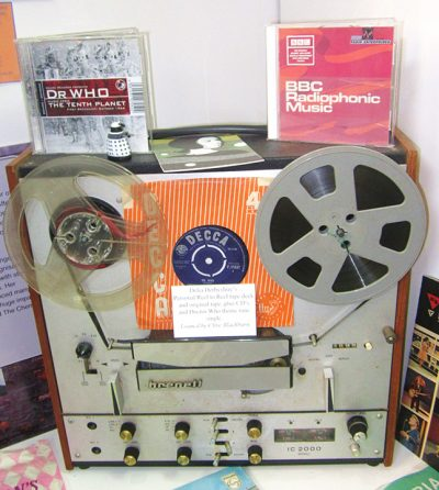 Delia Derbyshire's Tape Recorder