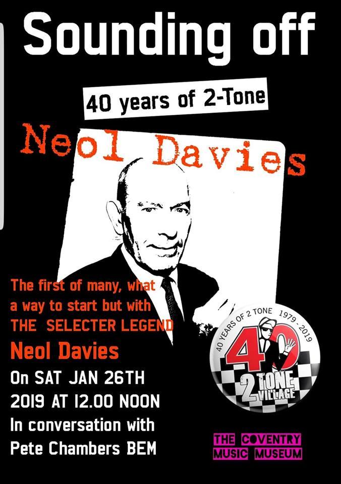 Neol Davies Sounding Off 26/1/2019
